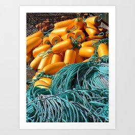 Color Contrast Art Print