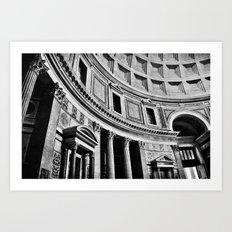 Rome Noir Art Print