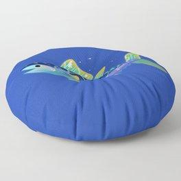 Atlantic Bluefin Tuna Floor Pillow