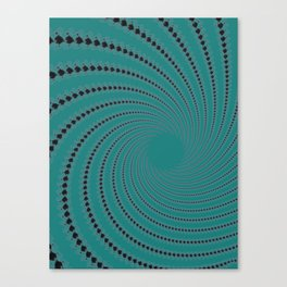 Zoned Out - Fractal Art Canvas Print