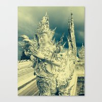thailand Canvas Prints featuring Thailand by very giorgious