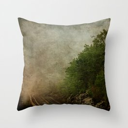 Off The Wall Throw Pillow