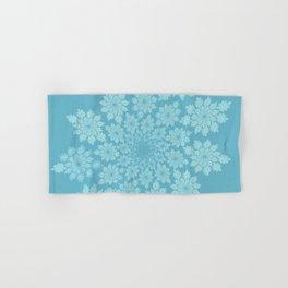 Pastel delicate leaves Hand & Bath Towel