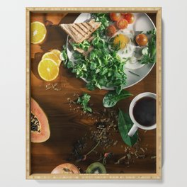Rise and Shine Serving Tray