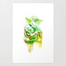 Yoda Print Art Print