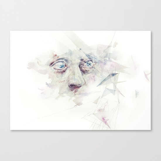 living in delay Canvas Print