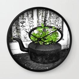 Herbal Tea Wall Clock