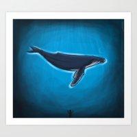 ballena Art Print