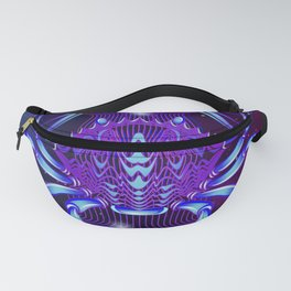 Zodiac neon signs — Cancer Fanny Pack