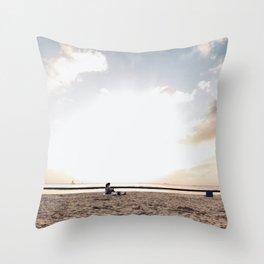 Life's adventures Throw Pillow