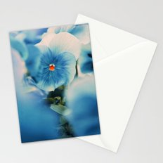 the blue beauty Stationery Cards