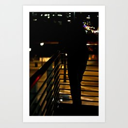 Dark Silhouette  Art Print