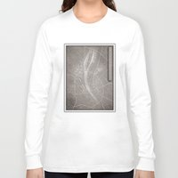 budapest Long Sleeve T-shirts featuring papercut - Budapest by Colin Kiss