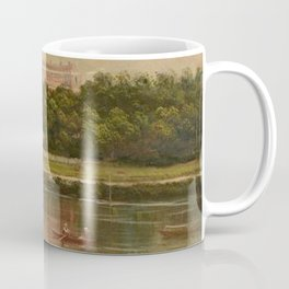 The Royal Star and Garter Home - Richmond on the Thames River landscape by James Isaiah Lewis Coffee Mug