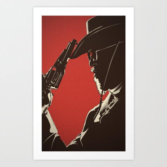 D. U. Art Print