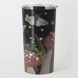 Lil Mushrooms at Dusk Travel Mug