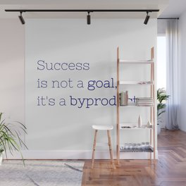 Success is not a goal, it's a byproduct. - Friday Night Lights collection Wall Mural