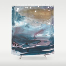 february Shower Curtain