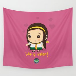 Cute Girl Master Guide Wall Tapestry