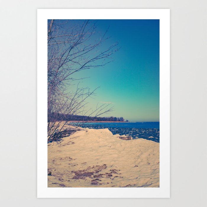 Winter Romance Art Print