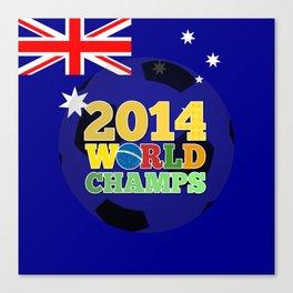 2014 World Champs Ball - Australia Canvas Print