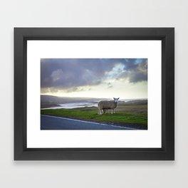 Roadside on Skye Framed Art Print