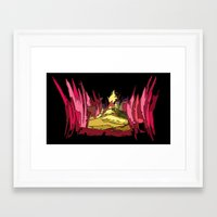 oz Framed Art Prints featuring Oz by Jose Luis
