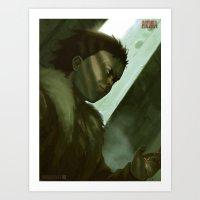 Number 41 Art Print