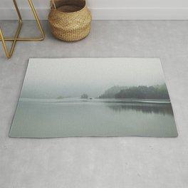 Fog - Landscape Photography Rug