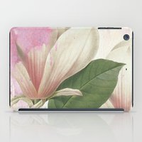 magnolia iPad Cases featuring magnolia by clemm