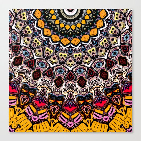Colorful Balance of Shapes Canvas Print