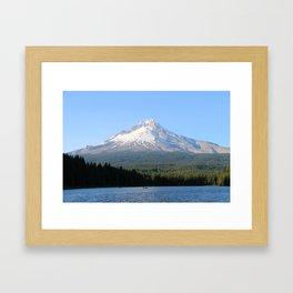 Mt. Hood in Portland, Oregon Framed Art Print