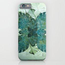 Hawaiian Quilt Series: Monstera iPhone Case