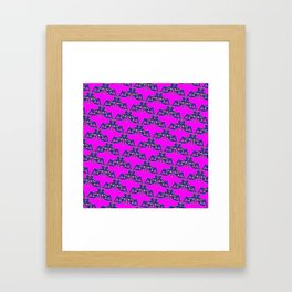 Babes Pattern Framed Art Print