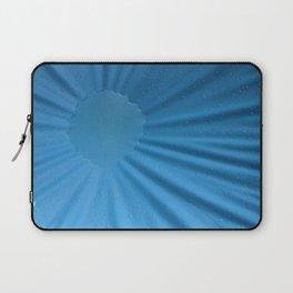 Blue water sun Laptop Sleeve