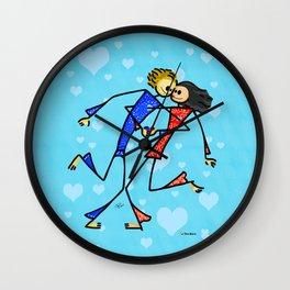 Thin Lovers Wall Clock