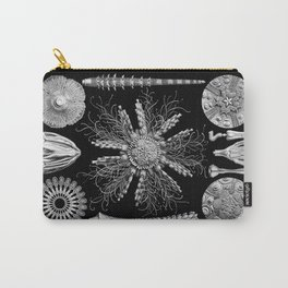 Sand Dollars (Echinidea) by Ernst Haeckel Carry-All Pouch