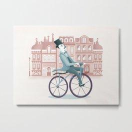 Taking a ride Metal Print