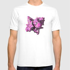 Morphing 3D Mens Fitted Tee White MEDIUM