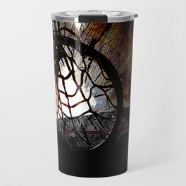 basketball art swoosh vs 4 Travel Mug