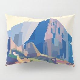 Geometric Machu Picchu, Peru Pillow Sham