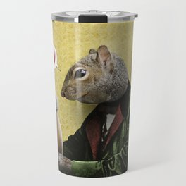 Mr. Squirrel Loves His Acorn! Travel Mug
