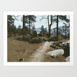 The Trail Less Traveled Art Print