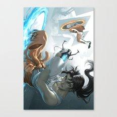 Chell Canvas Print