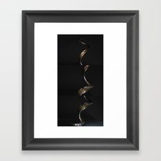 corkskrewed Framed Art Print