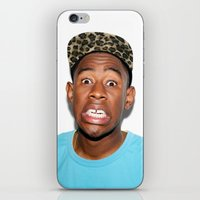 tyler the creator iPhone & iPod Skins featuring Tyler The Creator  by Trash Boat
