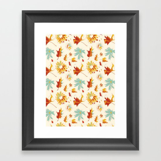Autumn/Fall Framed Art Print