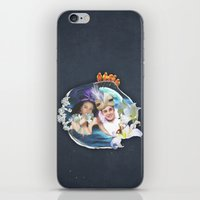 aladdin iPhone & iPod Skins featuring Aladdin & Jasmine by FarbCafé