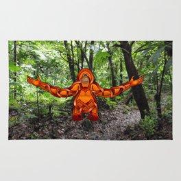 Orangutan Knot Rug