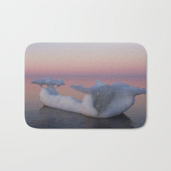 Viking Iceberg Ship Bath Mat